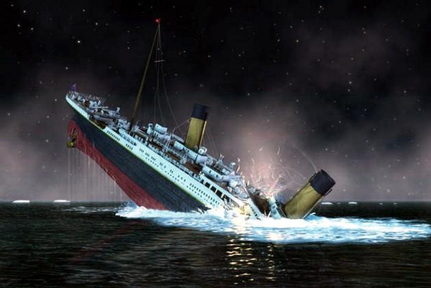 Affondamento del titanic